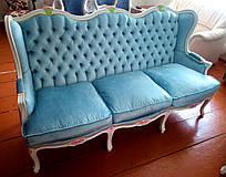 Прекрасний комплект классической мягкой мебели