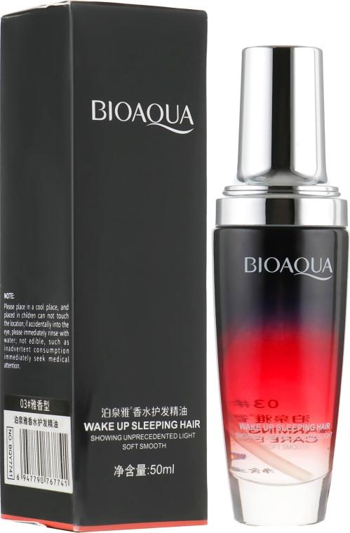 Увлажняющее масло для волос Bioaqua с ароматом розы 50 ml