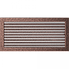 Камінна решітка Решітка мідна з жалюзями 22x45 Kratki