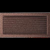 Камінна решітка Решітка мідна з жалюзями 22x45 Kratki, фото 1