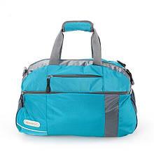 Спортивна містка сумка Кемпінг Kit 40 л із щільного жаккарда з регульованим плечовим ременем