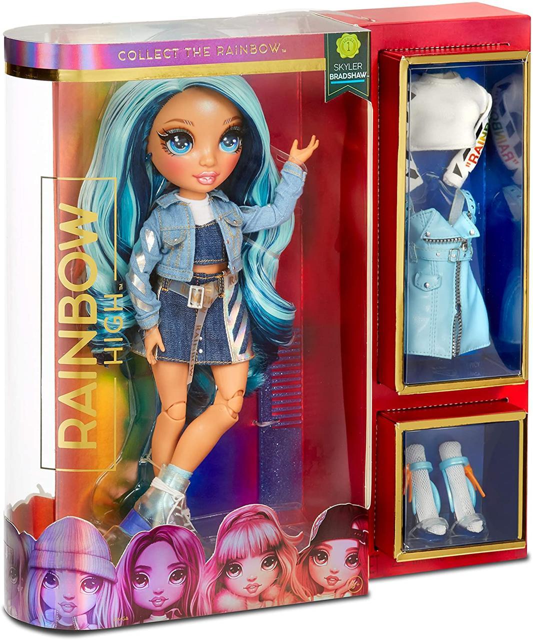 Лялька Мосту Хай Rainbow Surprise Rainbow High Skyler Bradshaw - Blue