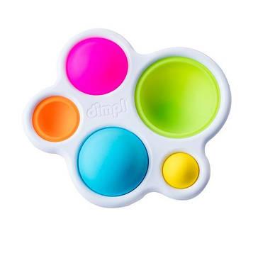 Прорізувач і тактильна іграшка Натисни на кулю Fat Brain Toys dimpl (F192ML)