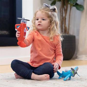 Іграшковий літак Крутись пропелер Fat Brain Toys Playviator червоний (F2261ML)