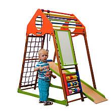 SportBaby Детский спортивный комплекс для дома KindWood Plus