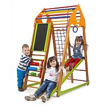 SportBaby Дитячий спортивний комплекс BambinoWood Plus