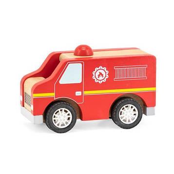 Дерев'яна машинка Viga Toys Пожежна (44512)