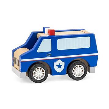 Дерев'яна машинка Viga Toys Поліцейська (44513)