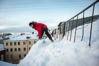 Уборка снега с крыш, фото 1