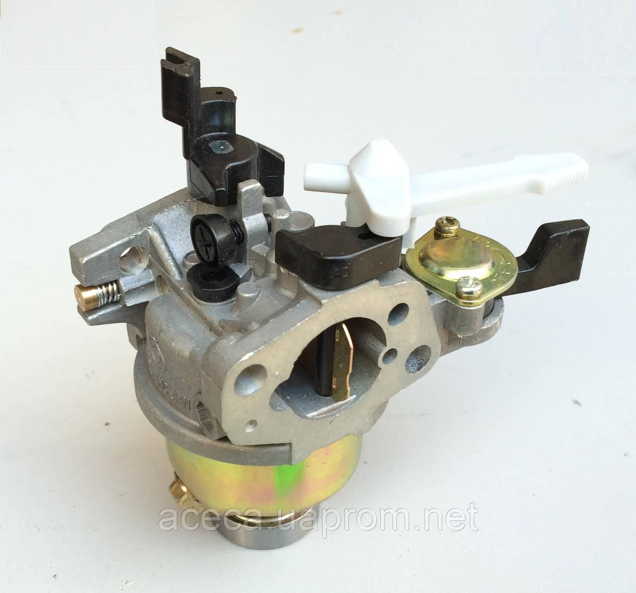 Карбюратор с краном для двигателя  5.5 - 7.0 л.с.(аналог Honda GX 120)