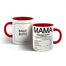 Чашка Склад мами