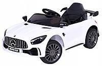Дитячий електромобіль Mercedes BBH-011 білий (колеса EVA)