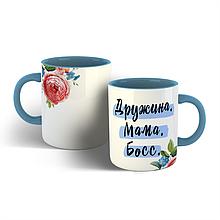 Чашка Дружина Мама Босс