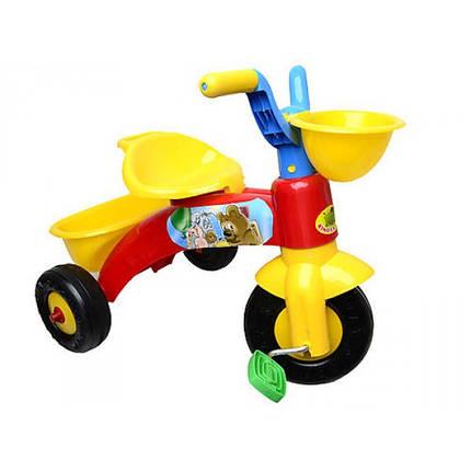 Велосипед детский трехколесный Киндер байк 10-001, фото 2