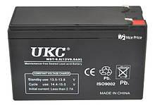 Аккумулятор BATTERY 12V 9A UKC/ 2386 (10 шт/ящ)
