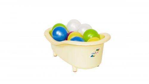 Ванночка С Шариками Большая Молочная SKL88-306826