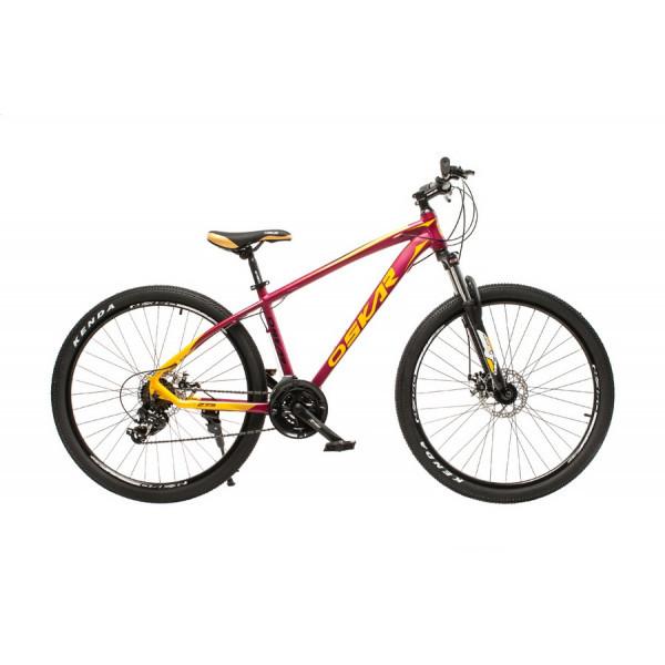 """Велосипед Oskar 27,5"""" М103 бордовый (27,5-m103-rd)"""