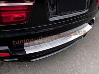 Накладка на задний бампер BMW X5 2006-13