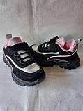 Черные кроссовки для девочек, фото 6