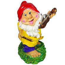 Садова фігура BnBkeramik Гном зі скрипкою