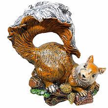 Садова фігура BnBkeramik Білка з шишками