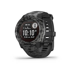 Спортивні годинник GARMIN Instinct Solar Sportsman Camo Black Walnut (010-02293-15)