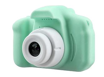 Дитячий фотоапарат Carton Foto 3mp з дисплеєм і функцією відеозйомки GM14, Зелений