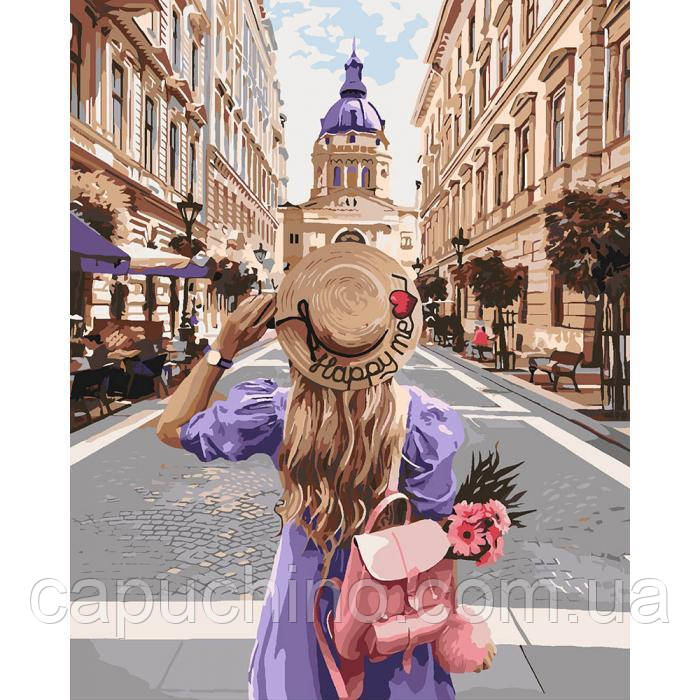 Картина за номерами малювання Ідейка Захоплюючий вояж 40х50см КНО4644 набір для розпису, фарби, кисті, полотно
