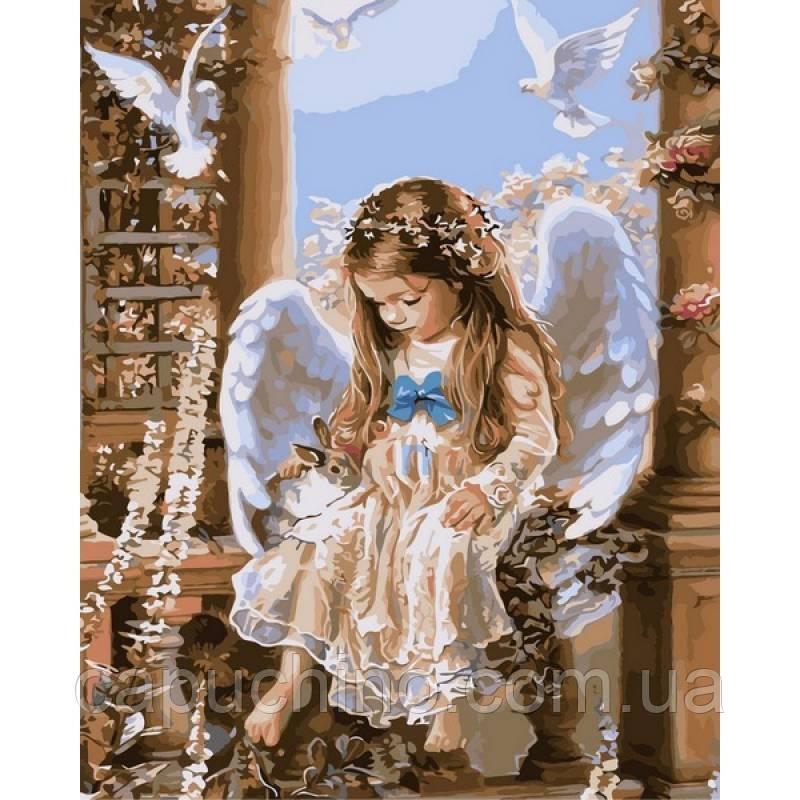 Картина по номерам рисование Babylon VPS205 Нежная любовь Худ.Сандра Кук 50х65см набор для росписи по цифрам в