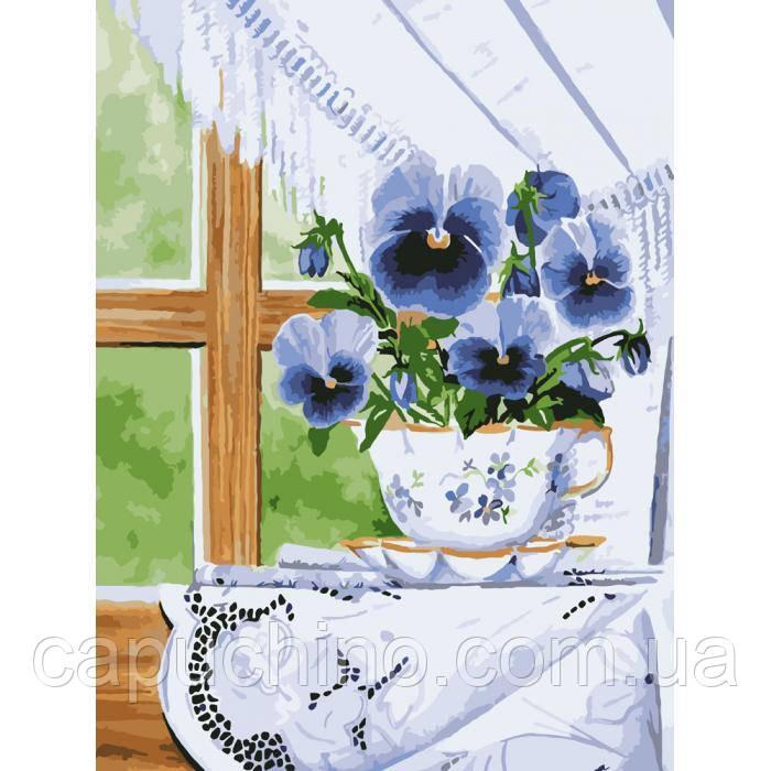 Картина по номерам рисование Идейка Майское дыхание 30х40см КНО2059 набор для росписи, краски, кисти, холст
