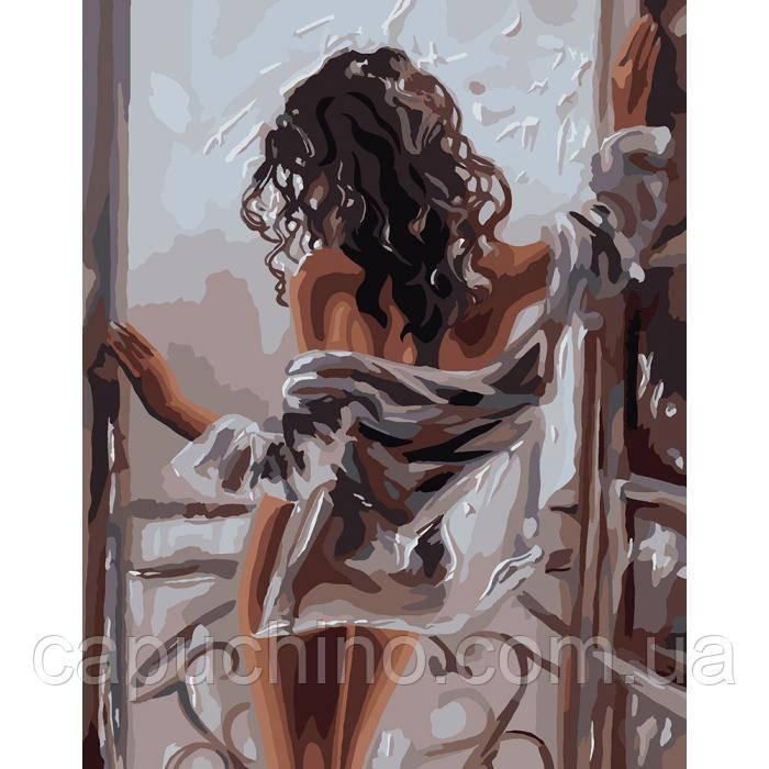 Картина по номерам рисование Идейка Жіноча красота 40х50см КНО4602 набор для росписи, краски, кисти, холст