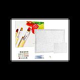 Картина за номерами малювання Brushme Кінна прогулянка GX24101 40х50см набір для розпису по цифрам у коробці, фото 2