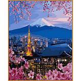 Картина за номерами малювання Babylon NB1112 Подорож по Японії 40х50см набір для розпису по цифрам у, фото 2