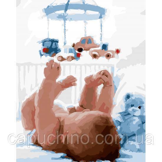 Картина по номерам Перша іграшка, 40x50 см., Art Story