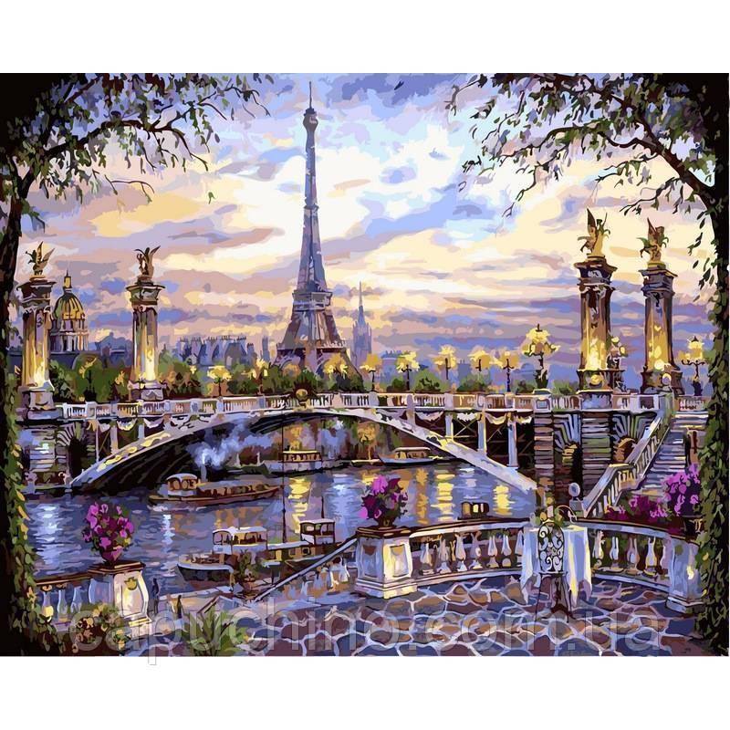 Картина по номерам рисование Babylon NB397 Воспоминания о Париже Худ.Роберт Файнэл 40х50см набор для росписи