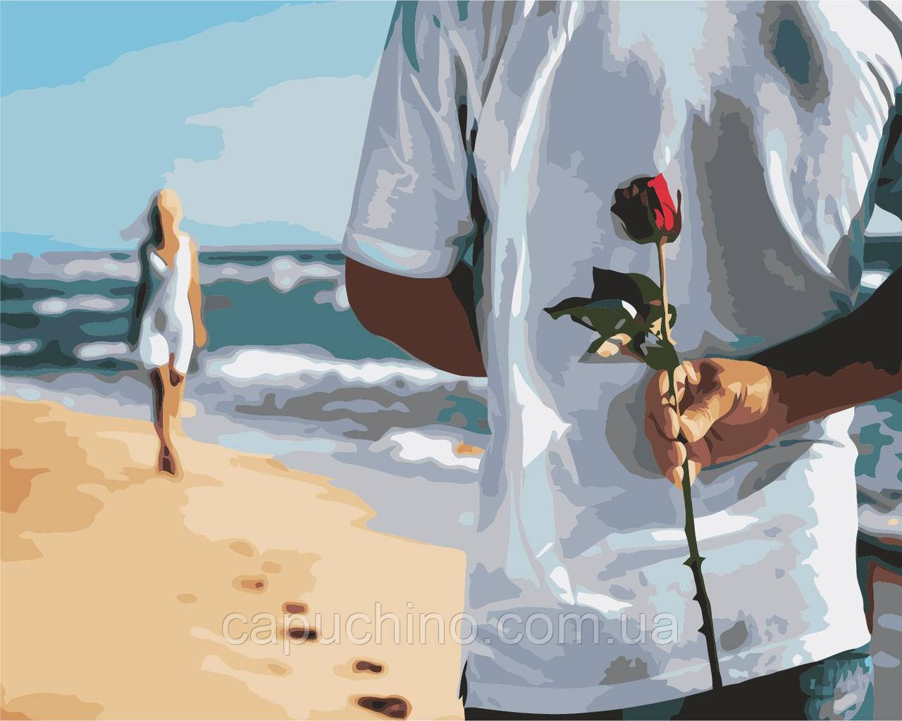 Картина за номерами Побачення з коханою, 40x50 див., Art Story