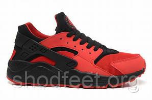 Мужские кроссовки Nike Air Huarache Red Black
