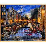 Картина по номерам рисование Babylon NB1148 Вечерний Амстердам в красках 40х50см набор для росписи по цифрам в, фото 2