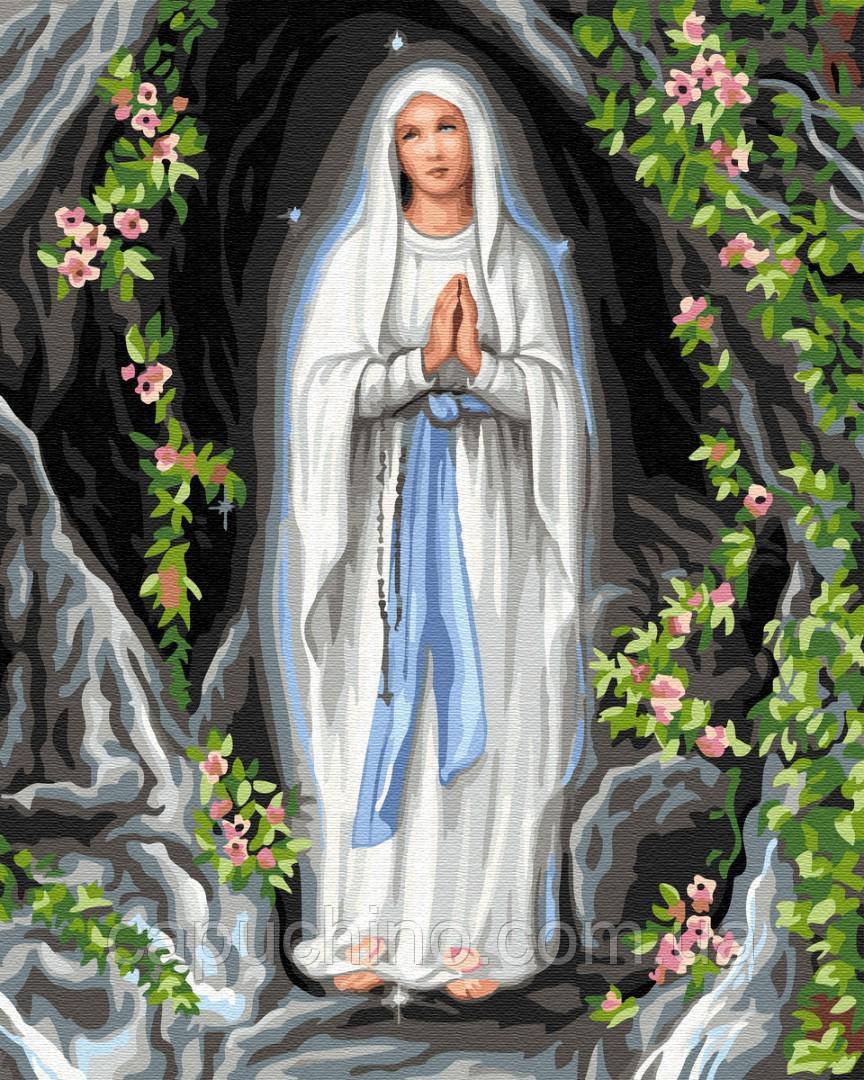 Картина за номерами малювання Богородиця BK-GX33229 набір для розпису, фарби, кисті, полотно