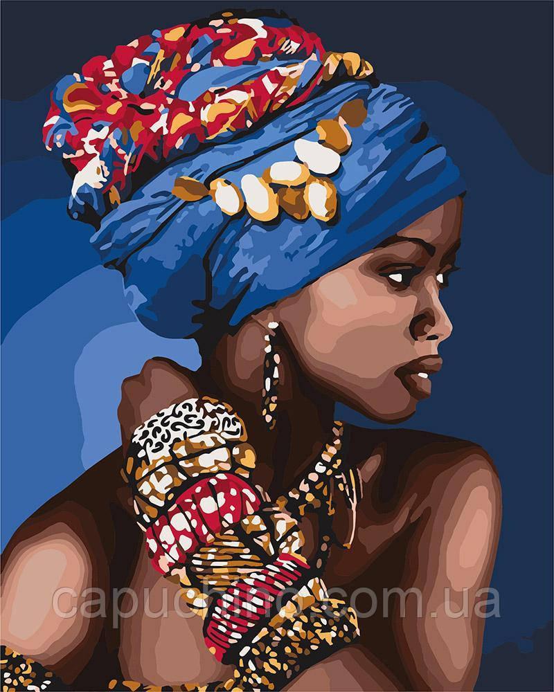 Картина по номерам рисование Идейка Восточная красота KH4661 40х50 см Люди на картине набор для росписи