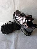 Модные кроссовки. Clibee кроссовки бронзовые для девочки., фото 5