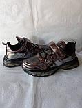 Модные кроссовки. Clibee кроссовки бронзовые для девочки., фото 4