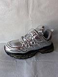 Сріблясті кросівки TM CLIBEE, фото 8