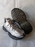 Сріблясті кросівки TM CLIBEE, фото 6