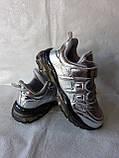 Сріблясті кросівки TM CLIBEE, фото 4