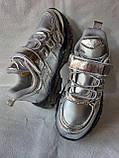 Сріблясті кросівки TM CLIBEE, фото 3