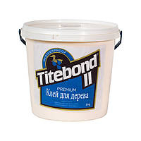 Клей для дерева Titebond® II Premium промисловий вологостійкий однокомпонентний клас D3 (США) 5 кг