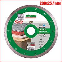 Алмазный отрезной диск Distar Granite Premium 7D 200x25.4 мм, фото 1