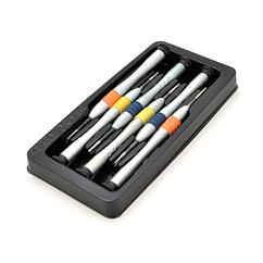 Набор отверток BAKKU BK-3335 (Т2, Т3, Т4, Т5, Т6, крест 2,0), Blister-box