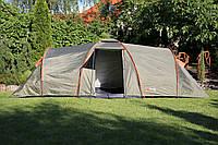 Палатка туристическая Abarqs Clif-8 двухкомнатная большая двухслойная